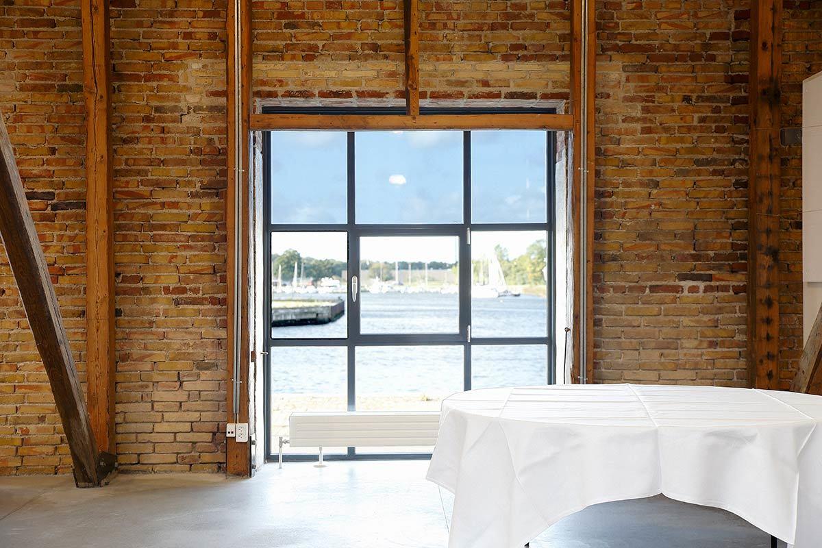 Møder og workshops med udsigt over Odense Havn